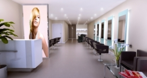 modern salon design